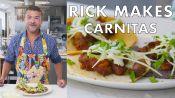 Rick Makes Double-Pork Carnitas