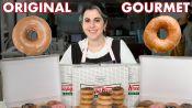 Pastry Chef Attempts to Make Gourmet Krispy Kreme Doughnuts