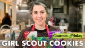 Pastry Chef Attempts to Make Gourmet Girl Scout Cookies
