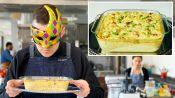 Recreating Bobby Flay's Macaroni & Cheese Carbonara From Taste