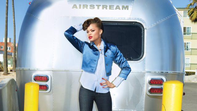 "CNE Video | Andra Day Sings ""Rear View"" at her Glamour Photo Shoot"