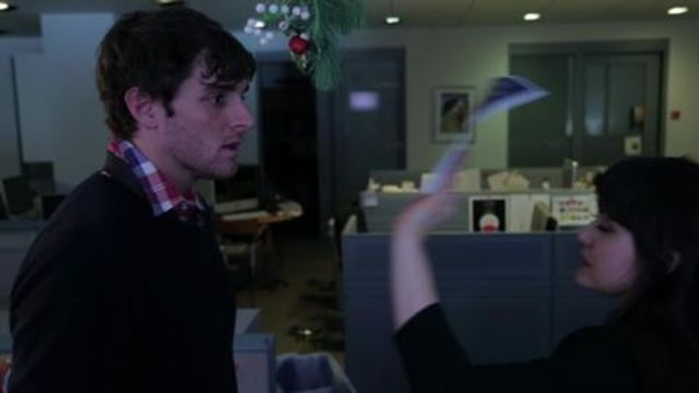 CNE Video | Mistletoe in the Office can be Really Confusing/Awesome (SRSLY, It's the Holidays)