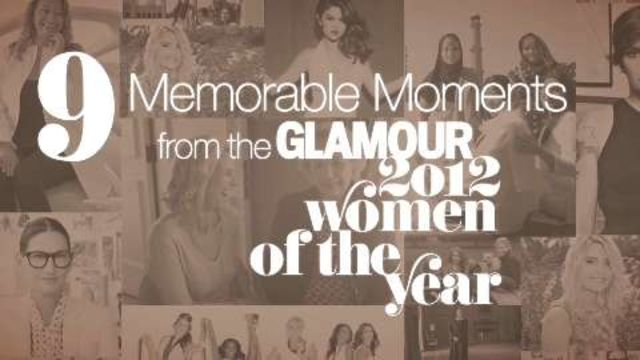 CNE Video | The 2012 Glamour Women of the Year Awards: 9 Memorable Moments