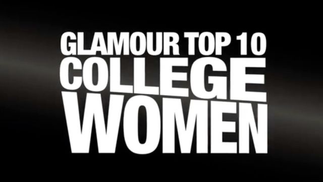 CNE Video | Meet the Winners of Glamour Magazine's 2012 Top 10 College Women Competition