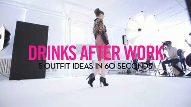CNE Video | 5 Outfit Ideas in 60 Seconds: What to Wear to Drinks After Work