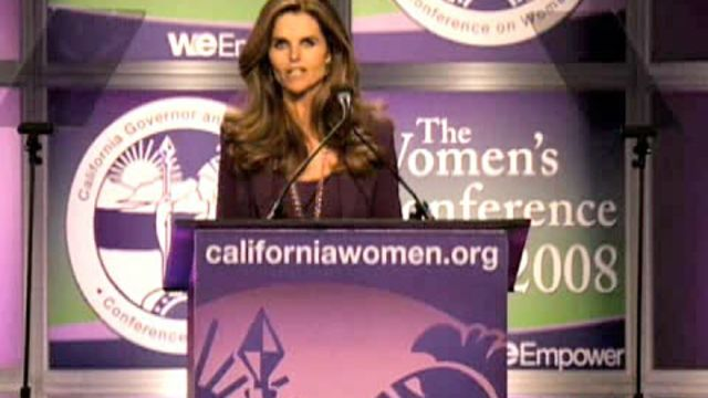 CNE Video | Maria Shriver's Biggest Fans Tell Why She's A 2009 Glamour Magazine Woman of the Year