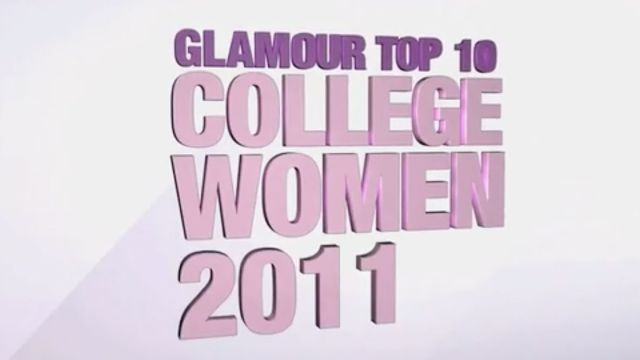 CNE Video | Meet the Winners of Glamour Magazine's 2011 Top 10 College Women Competition