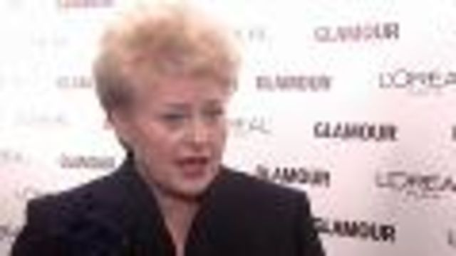 CNE Video | Women World Leaders Share Their Life Lessons at Glamour Magazine's 2010 Women of the Year Awards