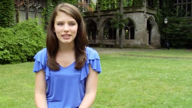 CNE Video | Glamour's 2011 Top 10 College Women: Ally Bain