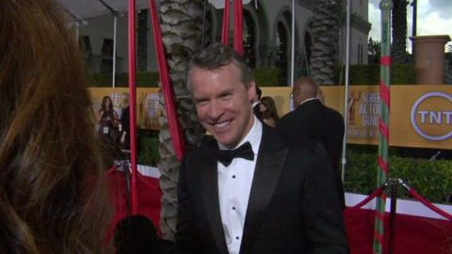 CNE Video   Tate Donovan On His Hilarious Friends Cameo, Being Handsome, and More From the 2013 SAG Awards