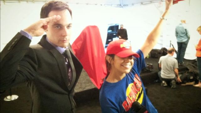 CNE Video | That Time We Dressed Up in a BAZINGA! Outfit to Interview the Cast of The Big Bang Theory!