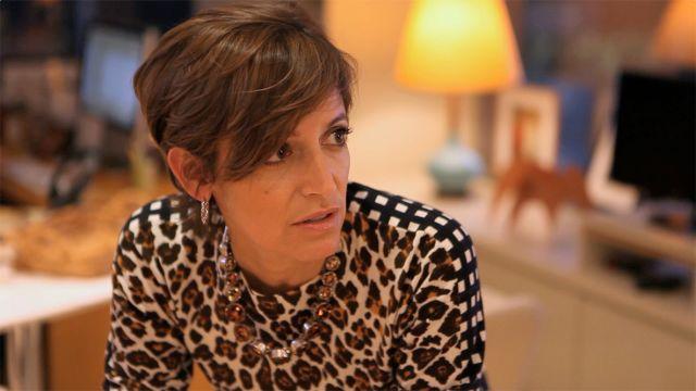 CNE Video | Glamour Editor in Chief Cindi Leive at the NYC Fashion Week Runway Shows (Carolina Herrera + Theskyns Theory)
