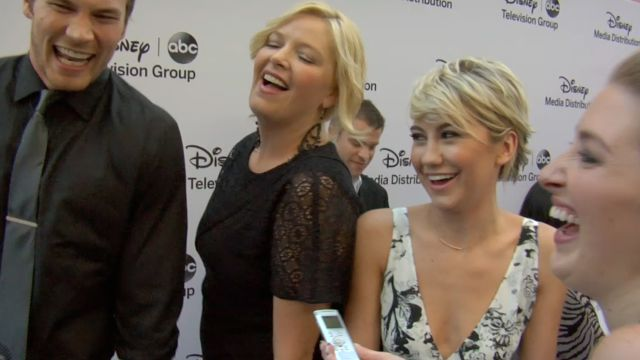 CNE Video | Red-Carpet Fun at the ABC Fall Preview With Malin Akerman, Josh Holloway, Tony Goldwyn, and More!