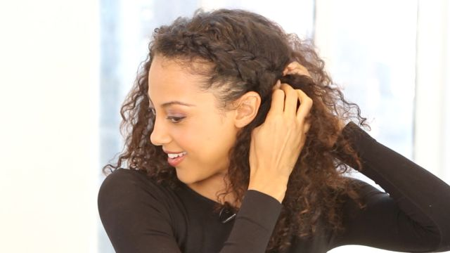CNE Video | A Hairstyle How-to for Curly Hair: The Braided Updo