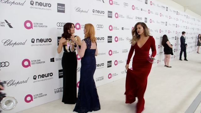 "CNE Video | We Hit the Oscars After-Party to Talk with Celebs About Lupita's Big Win, Red Carpet Dresses, ""Gravity Face"" and More"