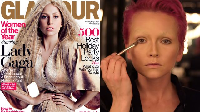CNE Video | How to Create Lady Gaga's 2013 Nude Makeup Cover Look