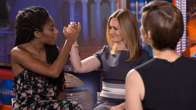 CNE Video | The Daily Show's Samantha Bee and Jessica Williams Share Workplace Dos & Don'ts