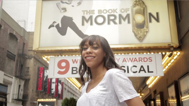 CNE Video   Book of Mormon and Les Mis Star Nikki M. James Shares How She Turned Her Childhood Dream into a Reality