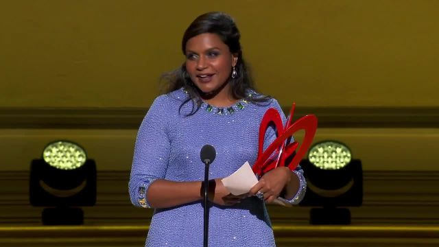 CNE Video | Stephen Colbert and Honoree Mindy Kaling Make a Hilarious Duo at 2014 Glamour Women of the Year Awards