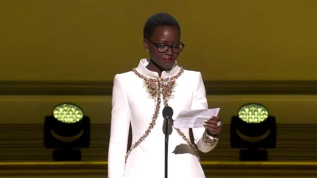 CNE Video | Lupita Nyong'o Shares Her Empowering Advice at the Glamour Women of the Year Awards