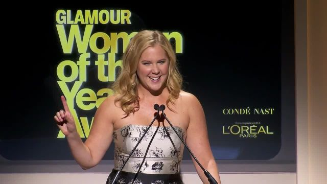 CNE Video | Amy Schumer's Beautifully Hilarious Tribute to Joan Rivers at the 2014 Glamour Women of the Year Awards
