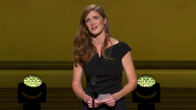 CNE Video | Hear Ambassador Samantha Power's Inspiring Speech at the Glamour Women of the Year Awards (PS: She's Introduced by Bruce Willis)
