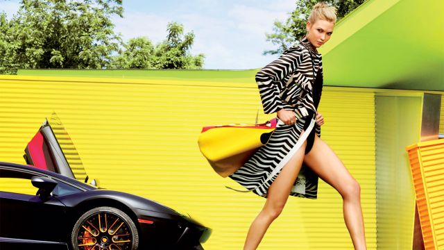 CNE Video | Karlie Kloss Takes Us on Her Glamour Magazine Cover Shoot
