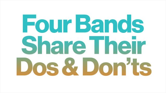 CNE Video | Four Bands Share Their Dos and Don'ts