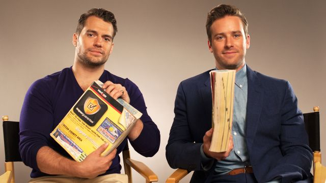 CNE Video | Watch Henry Cavill and Armie Hammer Make the Phonebook Sound Sexy