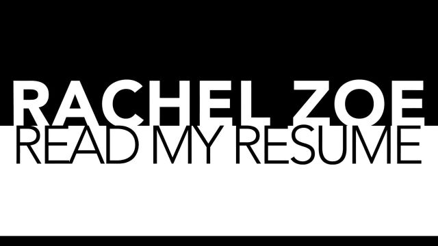 CNE Video | Rachel Zoe's Resume