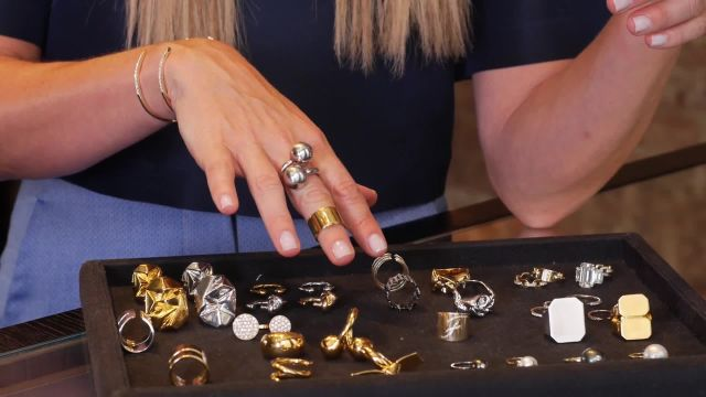 CNE Video | Styling Tricks for Stacking Rings, Courtesy of Fashion Designer Jennifer Fisher