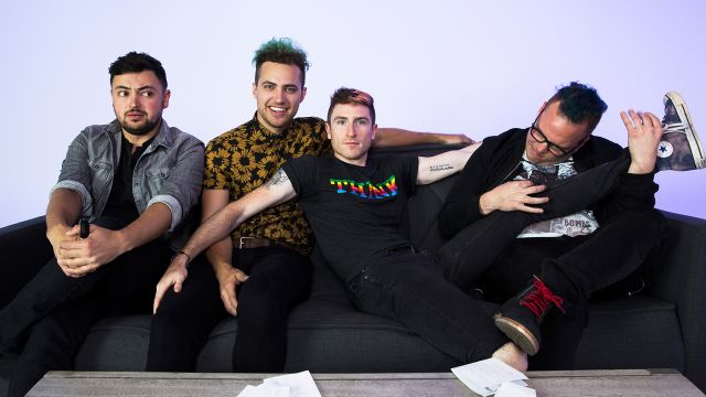 CNE Video | WALK THE MOON Proves Talking is Hard, but Drawing is Harder