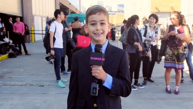 CNE Video | Glamour's Fourth Grade New York Fashion Week Correspondent