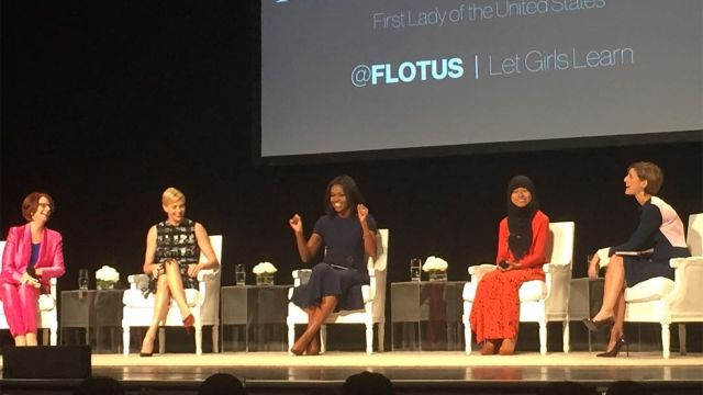 CNE Video | Michelle Obama Talks About the Power of Educated Girls