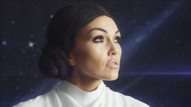 CNE Video | Kim Kardashian as Princess Leia Halloween Makeup Tutorial