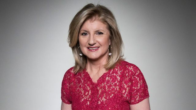 CNE Video | Arianna Huffington on Finding Your Strength