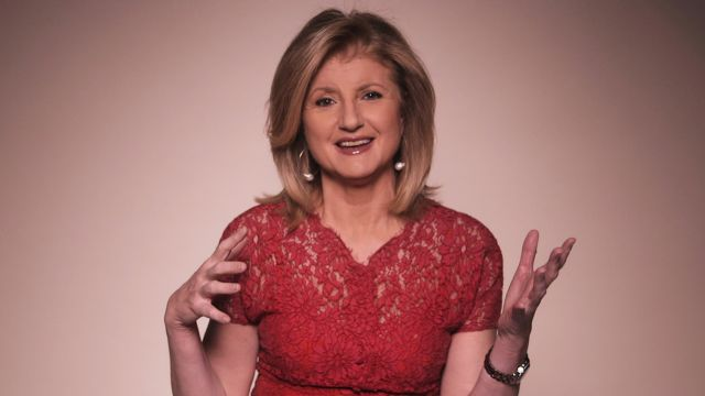 CNE Video | Arianna Huffington on How She Dared to Live Her Own Life