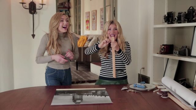 CNE Video   Mr. Kate and Peyton List Show You How To Turn Your Instagram Photos Into Large-Scale Art