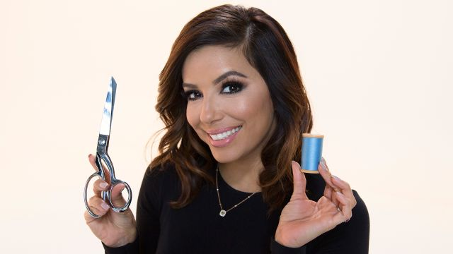 CNE Video | Eva Longoria Makes Sewing (And Dramatic Readings of Wikipedia Entries) Look Easy