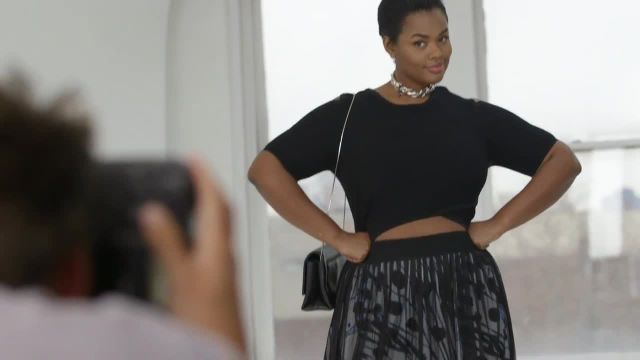 CNE Video | 3 Surprisingly Flattering Spring Fashion Trends For Curvy Girls, Modeled by Precious Lee
