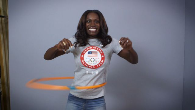 CNE Video | American Olympic Hopefuls Attempt to Hula Hoop