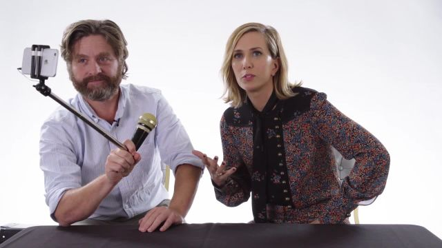 CNE Video | Zach Galifianakis & Kristen Wiig Rate Kid Stuff