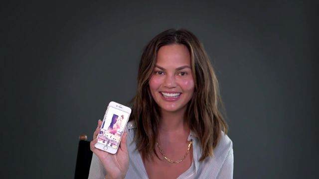 CNE Video | Chrissy Teigen Shows Us What's On Her Phone