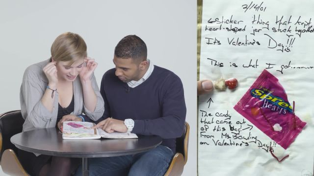 CNE Video   Guys Read Their Girlfriends' Old Diaries - Jessica & Aseef