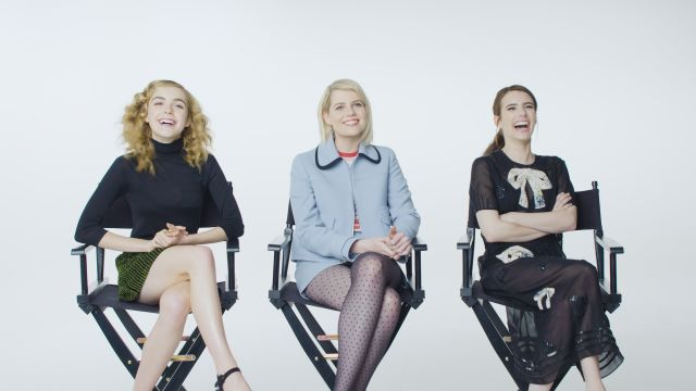CNE Video | Emma Roberts Plays 'Who Knows You Best?' with Kiernan Shipka & Lucy Boynton