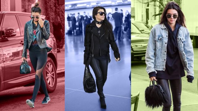 CNE Video | 11 Ways to Up Your Leggings-As-Pants Game, as Demonstrated by the Jenners and Kardashians