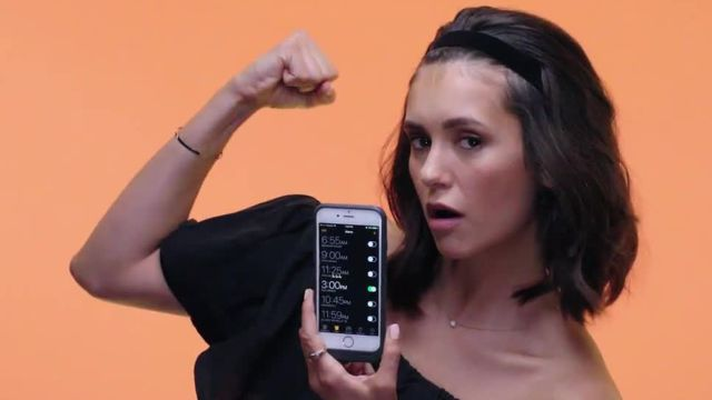 CNE Video | Nina Dobrev Shows Us the Last Thing on Her Phone