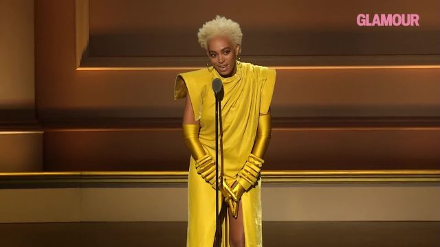 "CNE Video | Solange Speaks About Her ""Rise and Fall"" While Accepting Her WOTY Award"