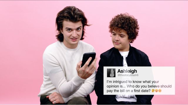 CNE Video | Stranger Things' Joe & Gaten Give Advice to Strangers on the Internet