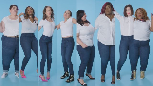 CNE Video | Women Sizes 0 Through 28 Try on the Same Jeans